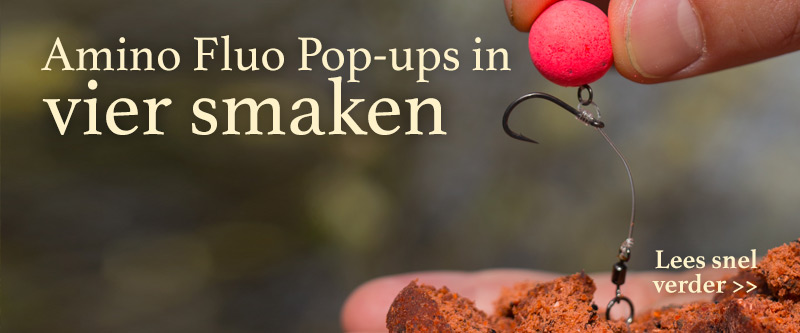 Amino Food fuo Pop-up boilies nu in 4 smaken