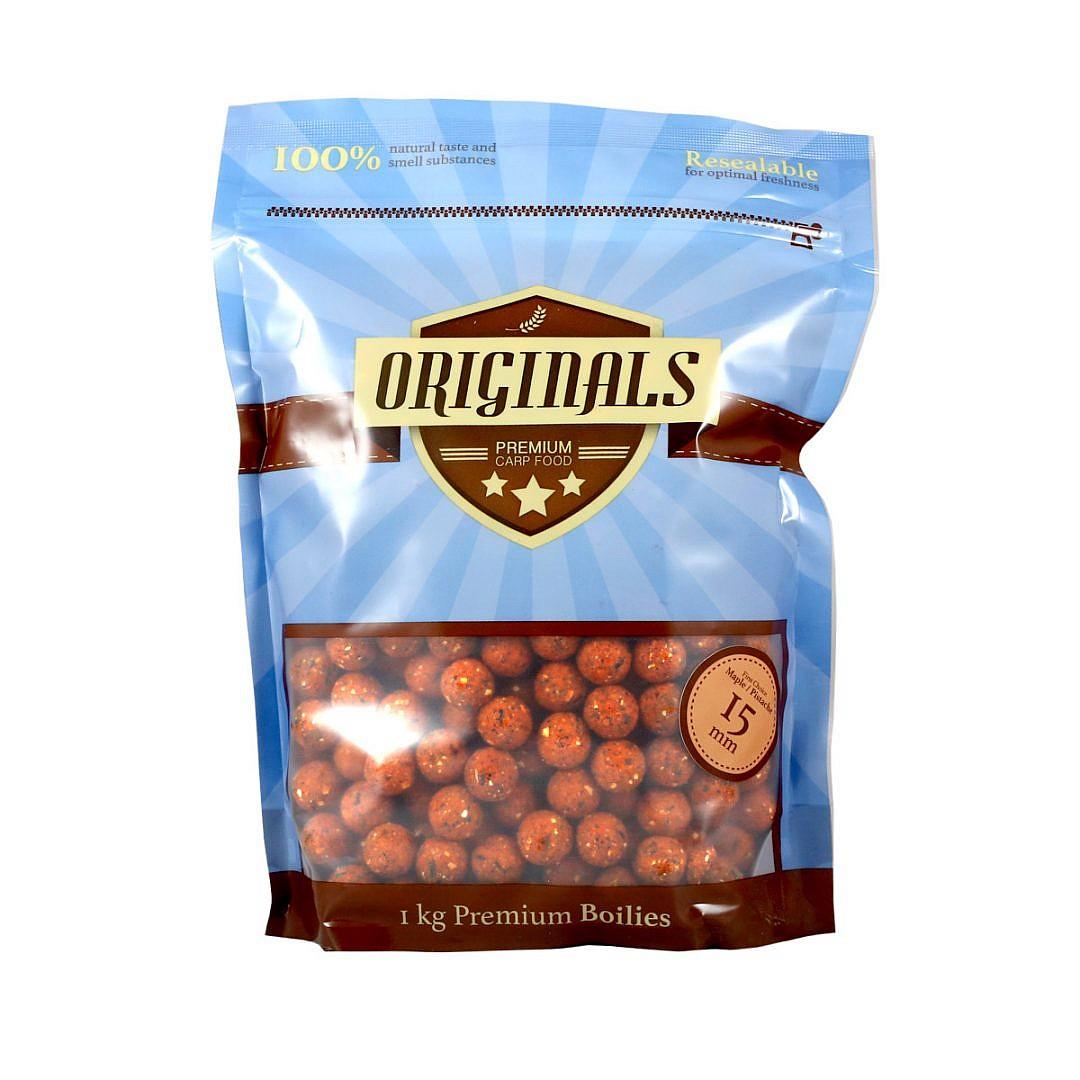 Originals-Premium Carp Food First Choice Maple Pistache boilies 15 mm