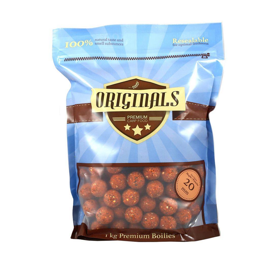 Originals-Premium Carp Food First Choice Maple Pistache boilies 20 mm