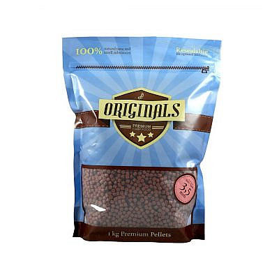 Originals-Premium Carp Food Liver Squid Pellet