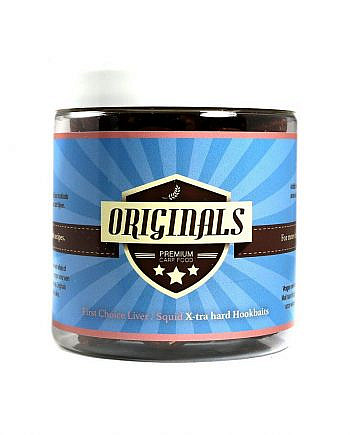 Originals-Premium Carp Food X-tra Hard Hookbait Liver Squid
