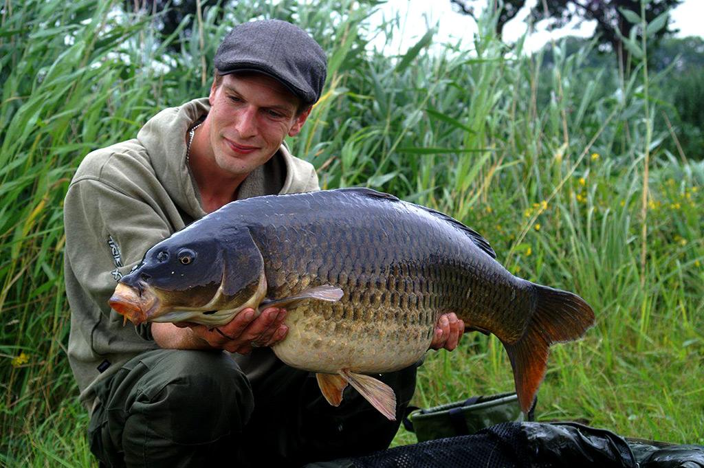 Prijswinnaar Tim Nijkamp op CarpFeeling