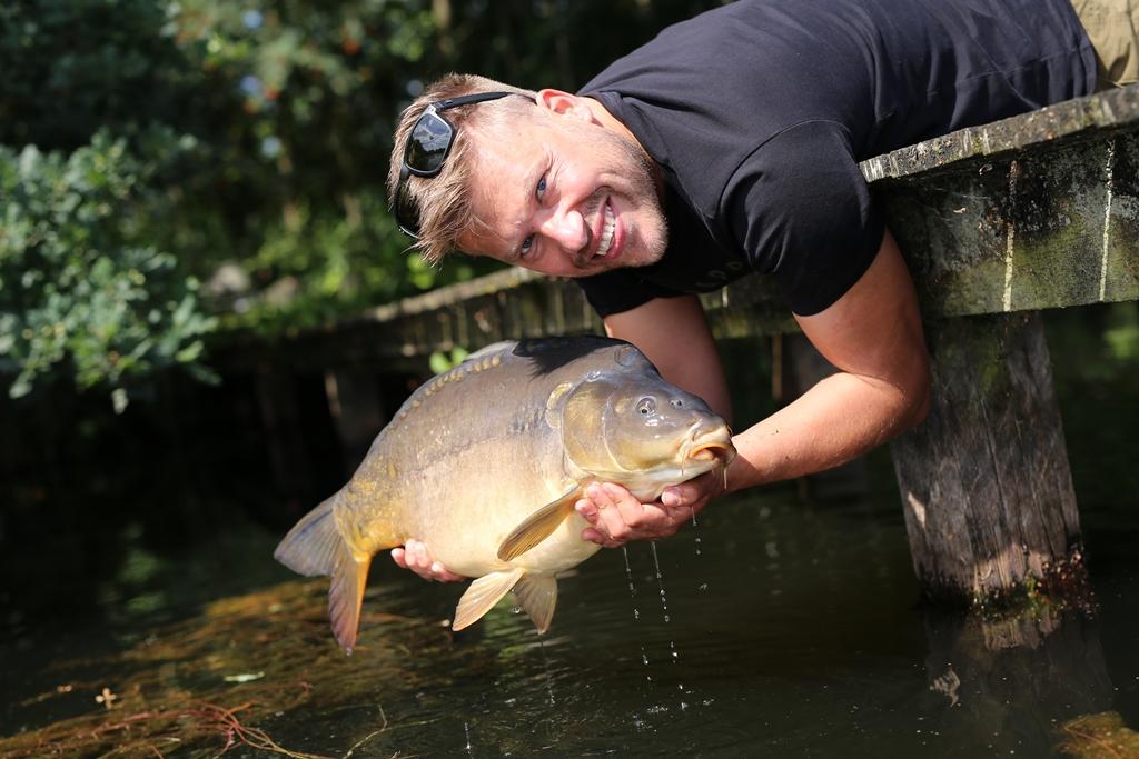 Wees zuinig op de vis dan kunnen we allemaal nog lang genieten van onze mooie hobby.