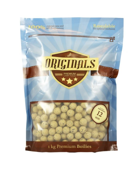 First Choice Milky Banana boilies 12mm