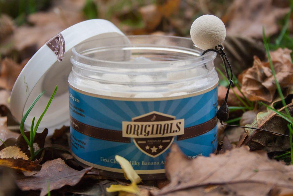 Een pop-up houdt je aas weg van de zure bodem en langer attractief