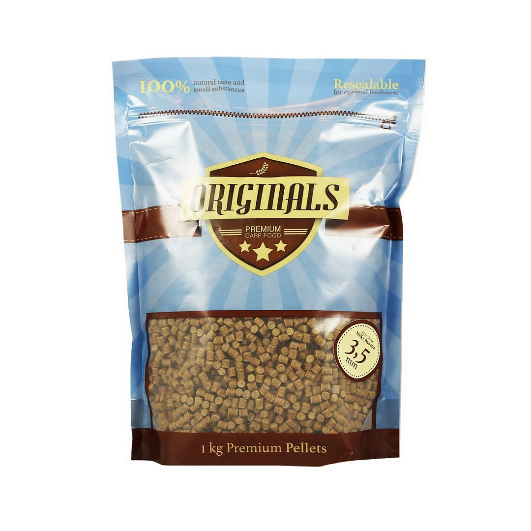 Originals Premium Carp Food Milky Banana Pellet