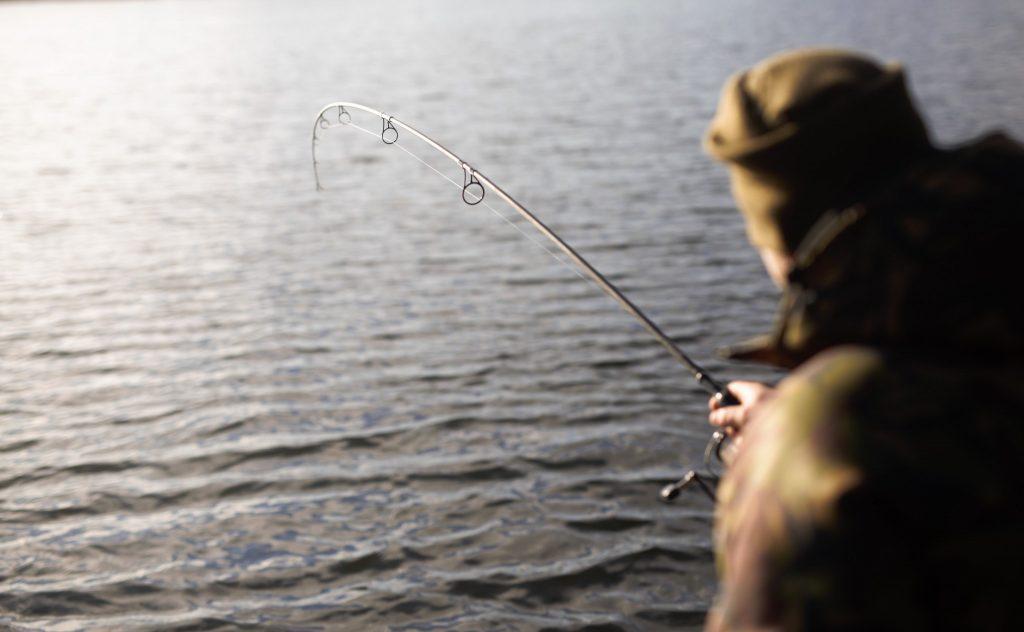 Het perfecte moment! Zorg dat je aan het water zit zodra de vissen beginnen te azen.