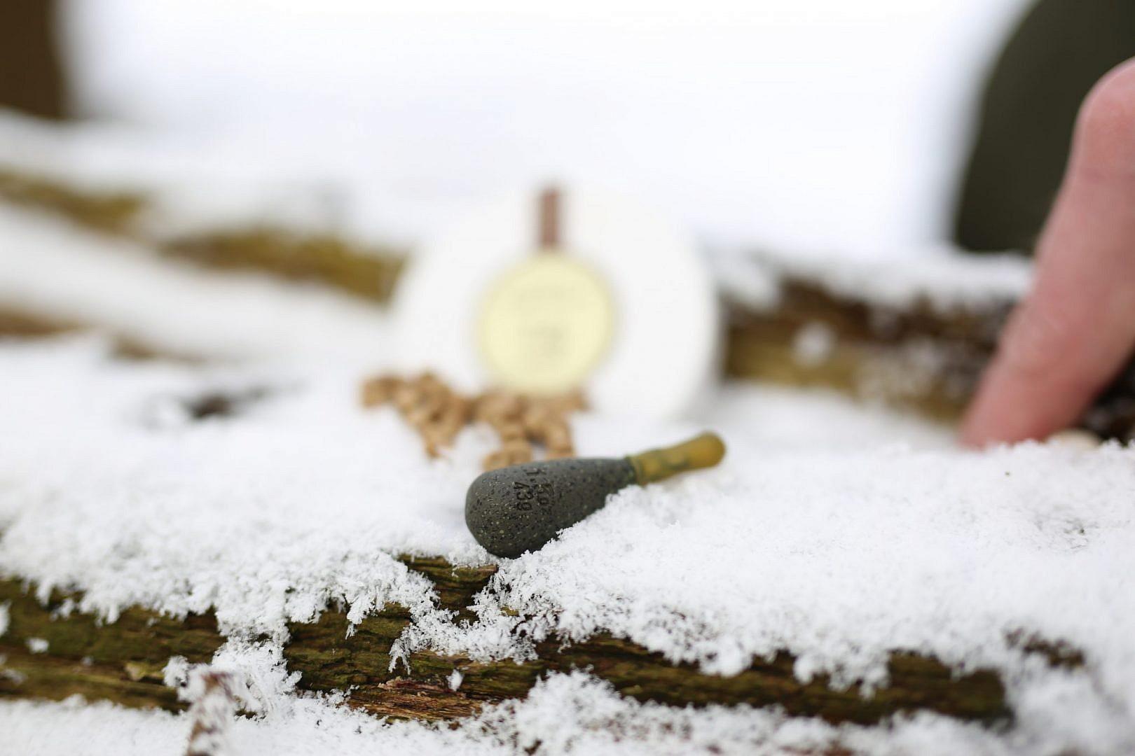 Met loodjes van 40-50 gram kun je gerust een paar keer werpen zonder de stek te verstoren.