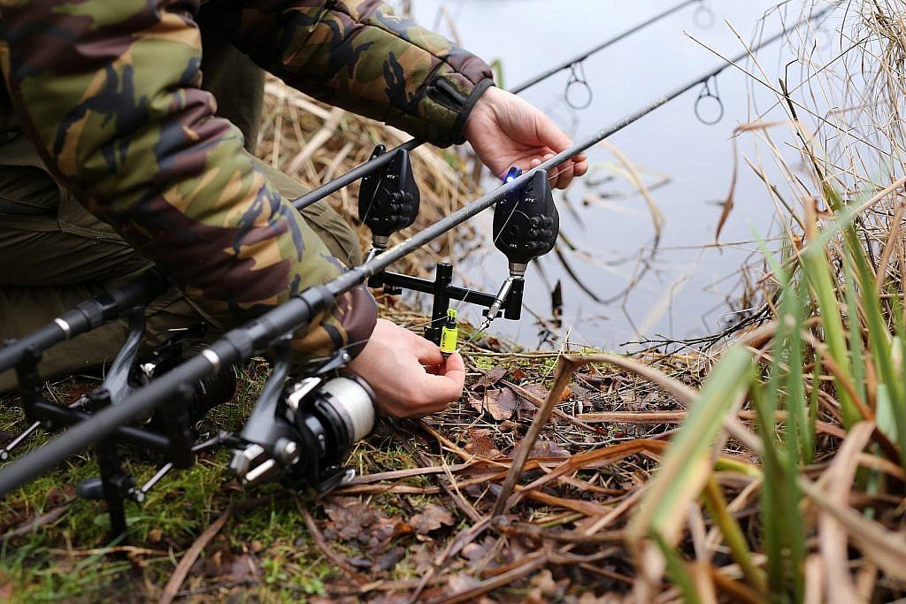 In de winter vissen we met strakkere lijnen dan in andere jaargetijden.