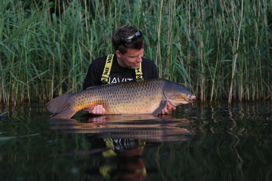 Afgelopen week ving Martin nog 1 van de topvissen van het water