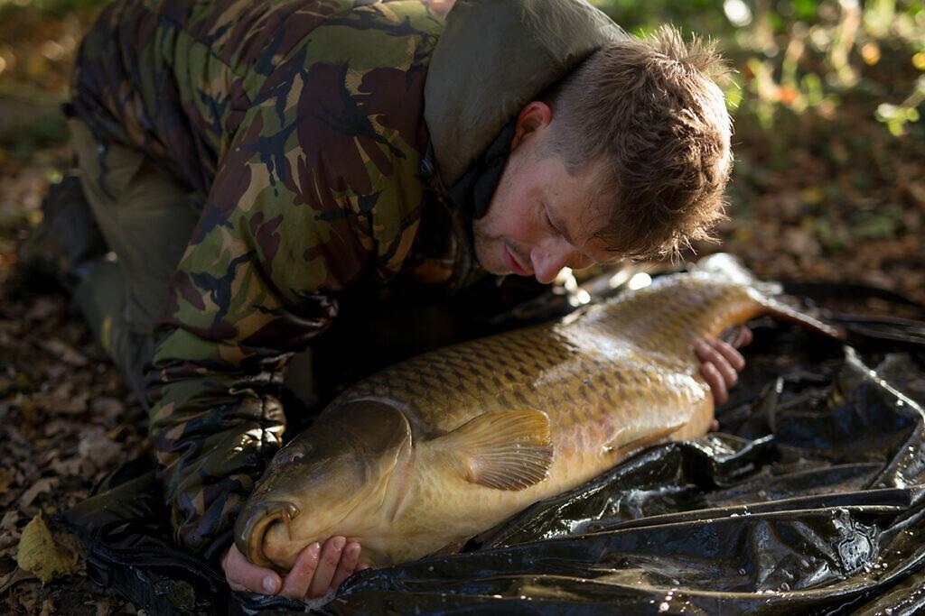 Direct bingo! Je hoeft niet persé naar Frankrijk voor grote vissen.